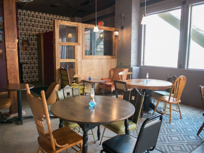 Inside Nox. (Photo from the Democrat and Chronicle.)